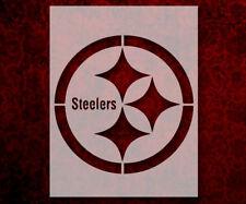 "Pittsburgh Steelers Football 8.5"" x 11"" Custom Stencil FAST FREE SHIPPING (346)"