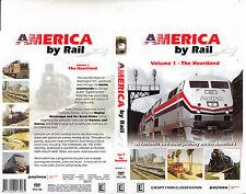 America By Rail:Volume 1-The Heartland-[120 min]-Travel USA-DVD