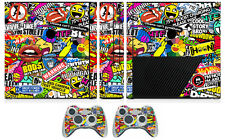 Bombing N262 Vinyl Decal Skin Sticker for Xbox360 Slim E and 2 controller skins
