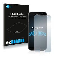 6x Displayschutzfolie Samsung Galaxy A3 (2017) Schutzfolie Klar Folie