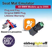 Seat Occupancy Mat Emulator For BMW E39 E46 E65 M3 Airbag Sensor Bypass