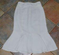 Calf Length Business A-line Regular Size Skirts for Women