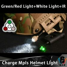 Night Evolution Tactical Charge Mpls Helmet Light Green Red White IR Light