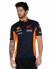 MotoGP Polo Shirt T-shirt Racing Repsol Honda Team 93 Marc HRC Christmas Gift