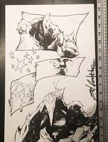 Signed Shelby Robertson Darkshrine Rough Cut Page 5 Original Comic Art