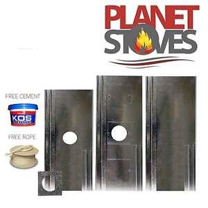 Chimney Register / Closure plate for Wood Burning Stoves & Flues Pipes