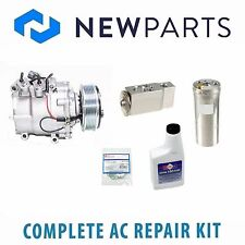Honda Civic 2001-2002 Complete AC A/C Repair Kit with NEW Compressor & Clutch