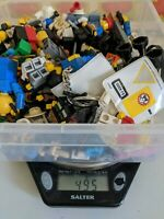 Lego Minifigure Bundle Job Lot 495 gms Mini Figures Accessories Pieces Spares