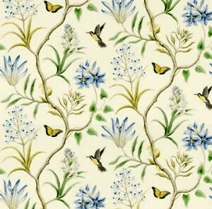 Dolls House Wallpaper 1/12th 1/24th scale Birds Quality Paper #408