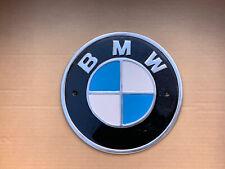 More details for large bmw  polished aluminium auto sign 24cm man cave garage workshop