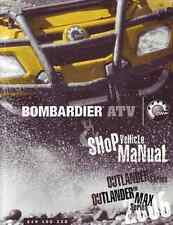2006 Bombardier (Can-Am) ATV Outlander 400 800 service manual in 3-ring binder
