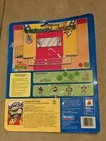 Powerliftin' Don DONATELLO 1989 cardboard Teenage Mutant Ninja Turtles TMNT