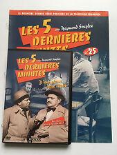 LES 5 DERNIERES MINUTES .. DVD N°25 + FASCICULE ... RAYMOND SOUPLEX