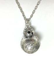 "Star Wars The Force Awakens BB-8 Necklace with 20"" Chain - Ships from USA!"