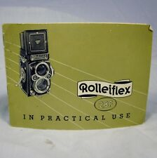 Vintage Instruction Manual for Rolleiflex Camera Rollei-Werke Franke & Heidecke