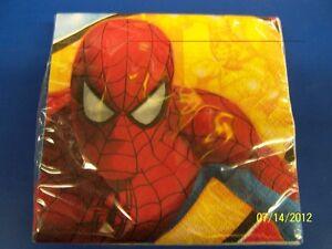 Spider Sense Spider-Man Comic Superhero Birthday Party Paper Beverage Napkins