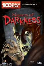 Masters of Darkness 100 Movie Pack Horror Chills and More DVD Set! NEW
