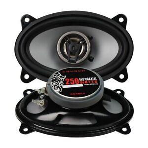 "Crunch 4X6"" Coaxial Speaker 250W Max Cs46Cx"
