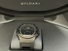 Bvlgari Daniel Roth Endurer Black Special Rugby Edition BRE56 $35k box-papers