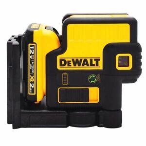 DeWALT DW085LG 12V 5-Spot 100-Ft Range Magnetic Cordless Green Laser