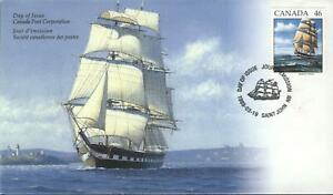 CANADA Scott FDC # 1777   SAILING CHIP MARCO POLO