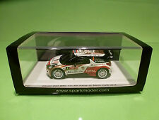 SPARK 1:43 CITROEN DS3 NO= 4 MONTE CARLO 2014 - ORIGINAL BOX - IN MINT CONDITION