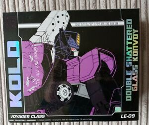 Transformers Classics Shattered Glass Voyager Botcon Optimus Prime KOLD