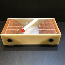 GERMAN BAUHAUS AVANTGARDE ART DECO CUBIST Cigarette Box CASE 1925 Lucite Wood