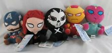 Funko Mopeez: Marvel - Lot of 5 - Iron Man, Widow, Vision, Captain, Crossbones