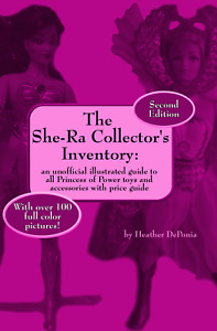 The She-Ra Collector's Inventory Color Price Guide MOTU He-Man Guide Book PB NEW