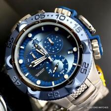 Invicta Subaqua Noma V SAN 5 Blue Swiss Mvt Steel Chronograph 52mm Watch New