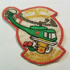 SPEEDBALL at YOUR SERVICE- US  587th Medical Det - VIETNAM WAR PATCH