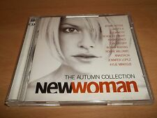 "VARIOUS "" NEW WOMAN "" THE AUTUMN COLLECTION - DOUBLE CD ALBUM - UK FREEPOST"