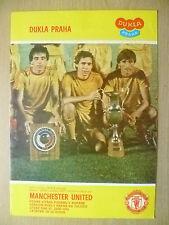 1983 European Cup Winners' Cup- DUKLA PRAHA v MANCHESTER UNITED (Org*, VG)