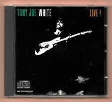 RARE CD ★ TONY JOE WHITE - LIVE ★ ALBUM 10 TRACKS (SANS CODE BARRE)