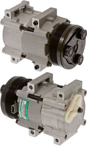 NEW A/C Compressor Fits: 1992-2002 Ford Escort 2.0L 1 Year Warranty
