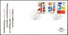Países Bajos 1995 50 Aniversarios Fdc Primer Día cubierta #c 28077