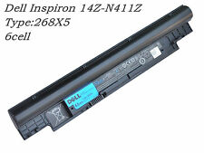 65Wh Original Dell Inspiron 14Z-N411Z 13Z N311Z Genuine Battery 268X5 H7XW1