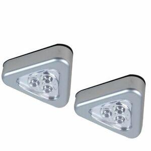 LED Stick and Click Lights Cabinet Furniture Light 2 x Lights