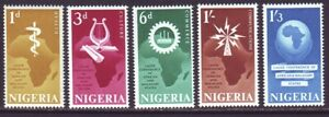 Nigeria 1967 SC 207-208 MNH Set African Conference