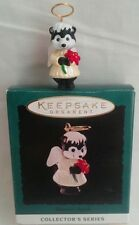 Hallmark Christmas Miniature Nature's Angel w/Halo Series #5 Skunk 1994 MIB