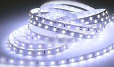 1m 60xkaltweiß 5630 LED bande sans câble et Connecteur bande Led souple Rayures