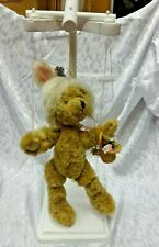 Revised! Annette Funicello Marionette Easter Bear w/Stand
