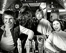 "HARRISON FORD, MARK HAMILL & CARRIE FISHER IN ""STAR WARS"" - 11X14 PHOTO (LG-095)"
