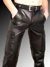 Pantalon noir pour motocyclette Homme