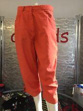 Etirel Jogginghose 7/8 Hose Orange Funktionshose Outdoor Gr 42 Top Zustand