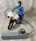 Moto Police - Police Motorcycle Bike - Remote Controlled - Joustra 1970s Vintage