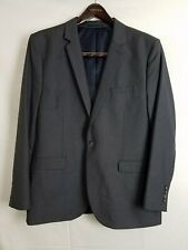 Top Man Grey Polyester Blend Suit Coat Men's Size 44R