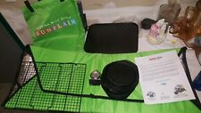 Sunflair Portable Solar Oven Cooker deluxe kit sun stove w carry case camping