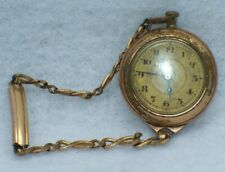 Antique Simmons Watch Band Swiss Movement Antique Vintage Gold Filled Watch With